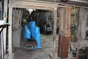 Salle de préparation des kôji