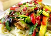 Udon-aux-légumes