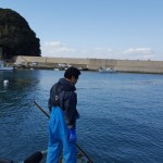 Pêcheur de wakamé