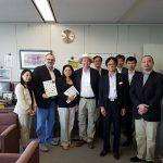 Réception à la préfecture de Kagawa