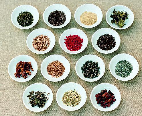 Les ingrédients de l'alimentation du Kampo Wagyu