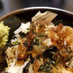 Riz, wasabi, nori, katsuobushi