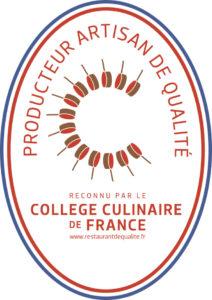 Membre du Collège Culinaire de France.
