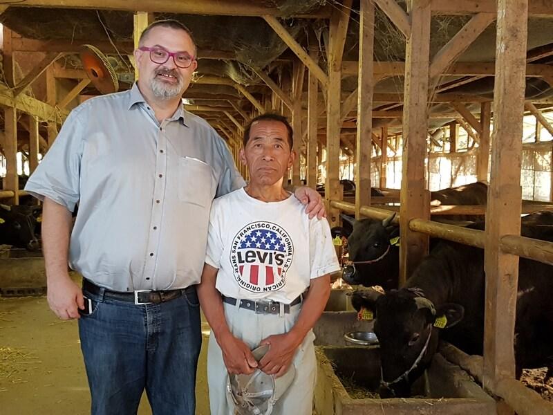 Olivier Derenne et M. Yamaguchi San
