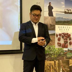 Mr Morita, producteur de haricots Azuki