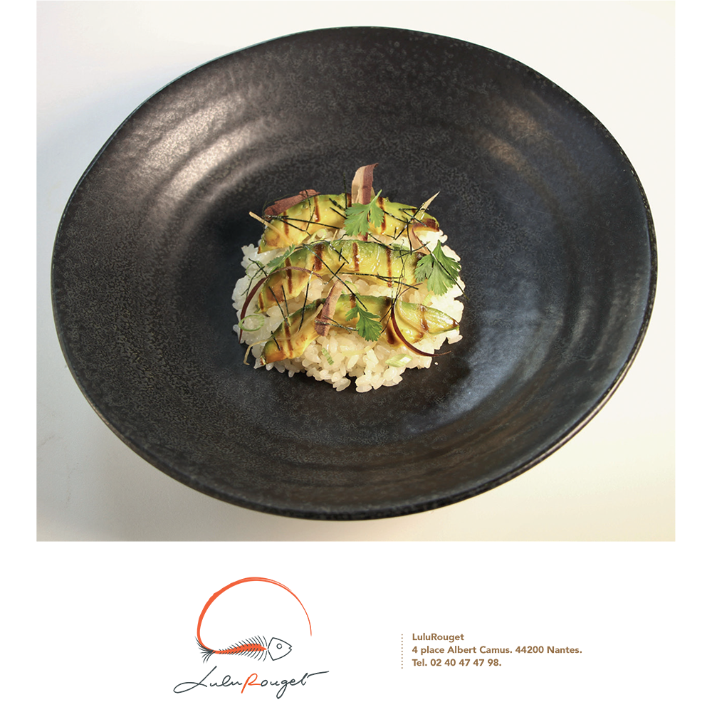 Duo gourmand …Lulu Rouget & Nishikidôri pour le Magazine Gastronomica